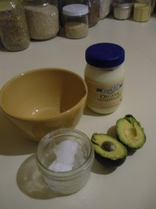 Hair Guac Ingredients